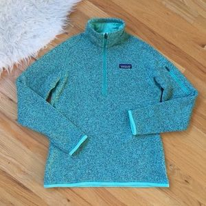 Patagonia Better Sweater Pullover Lite Green
